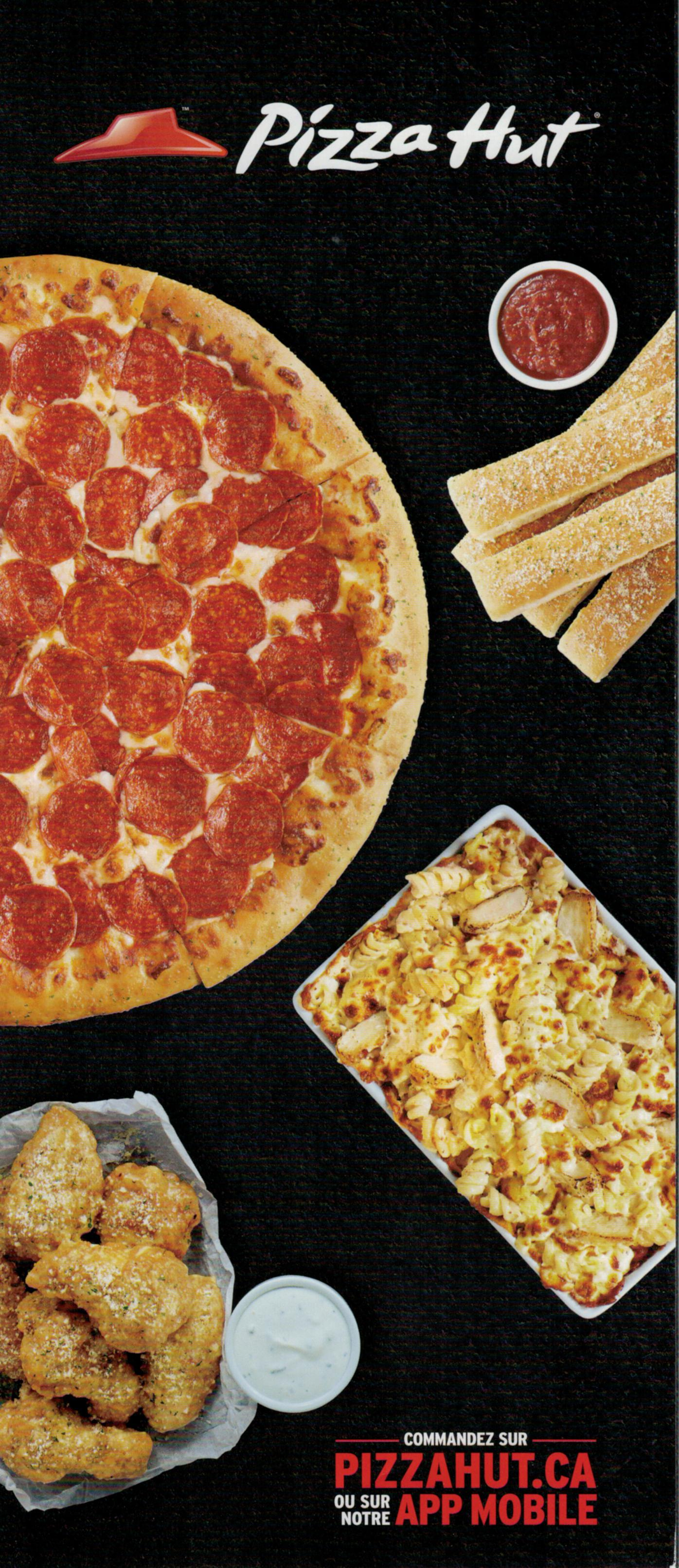 Joliette Menus Pizza Hut
