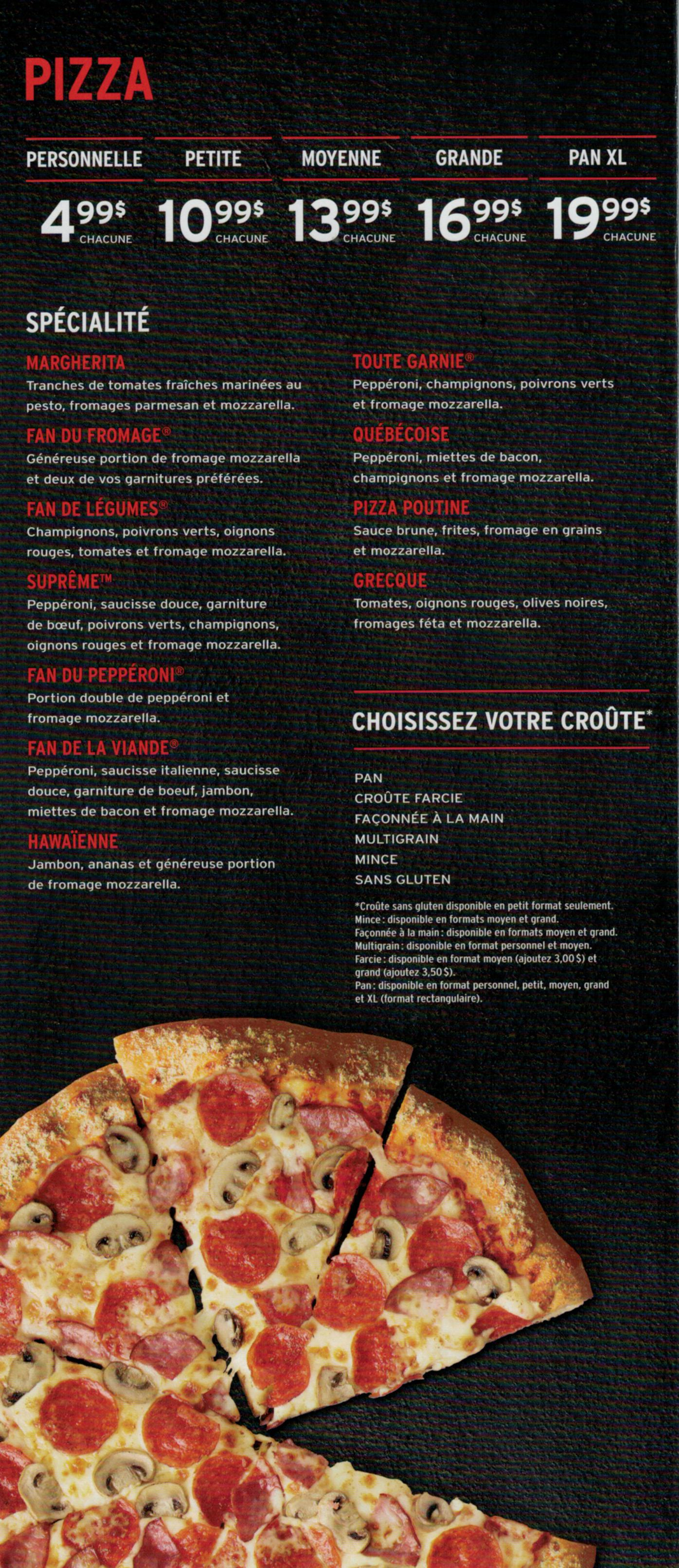 Remarkable Joliette Menus Pizza Hut Interior Design Ideas Grebswwsoteloinfo